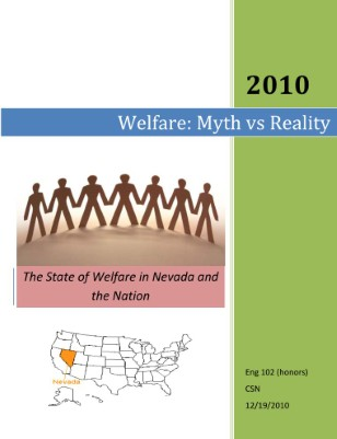 welfare myths and realities essay Sweden's welfare state myths and realities: where the market madness can be tamed and a welfare state can foster a more equal society.