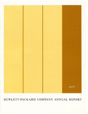 HP Annual Report 1973