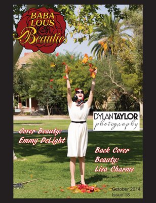 Baba Lous Beauties- Anything Pin Up Issue 18: October 2014