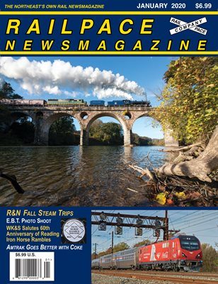 JANUARY 2020 Railpace Newsmagazine