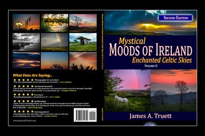 Cover - Enchanted Celtic Skies, Vol. II, Mystical Moods of Ireland (POSTER)