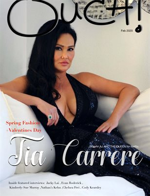 OUCH MAGAZINE -TIA CARRERE- FEB 2020