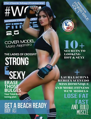 WCW Magazine Fitness Issue 2 Maria