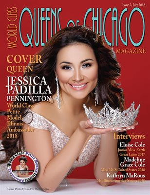 World Class Queens of Chicago Magazine Issue 2 with Jessica Padilla Pennington