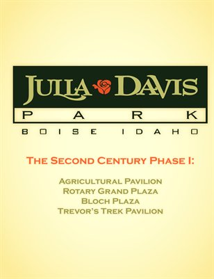 Julia Davis Park: Second Century Phase 1