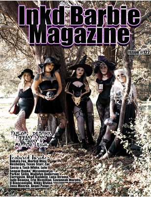 Inkd Barbie Magazine Issue #122 - The Witches