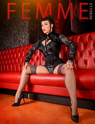 Femme Rebelle Magazine October 2018 BOOK 2 - Danny Stygion Cover