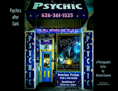 Psychics After Dark by Richard Greene