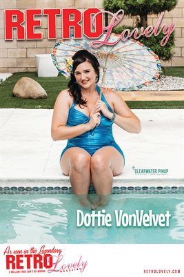 Dottie VonVelvet Cover Poster