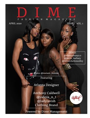 April Edition Dime Fashion Magazine