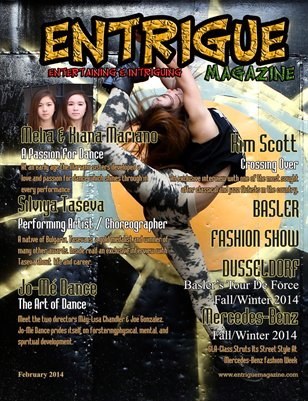 Entrigue Magazine February 2014