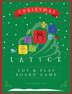Christmas Latice Cut and Play Board Game