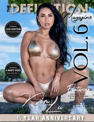 TDM: 6yr Anniversary Kim Lu-NicoleWilliams Cover1 Vol. 6