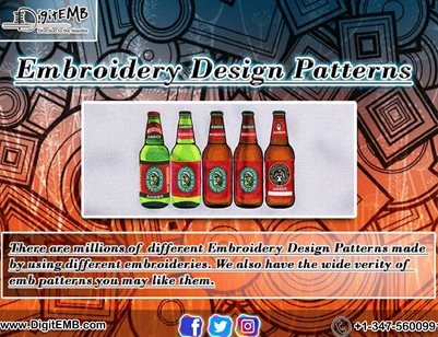 Embroidery Design Patterns