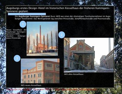 Erstes/First Design Hotel in Augsburg