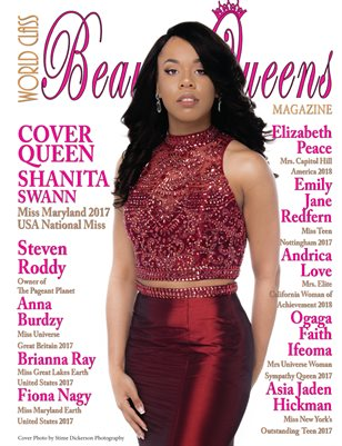 World Class Beauty Queens Magazine with Shanita Swann