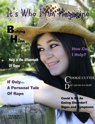 It's Who I Am Magazine April