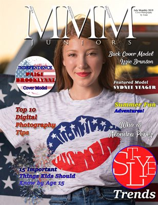 Juniors Independence July Monthly Issue