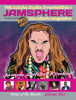 Jamsphere Indie Music Magazine October 2015