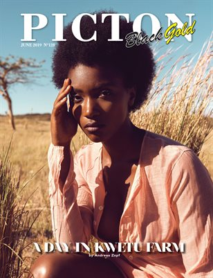 Picton Magazine June 2019 BLACK GOLD N128 Cover 2