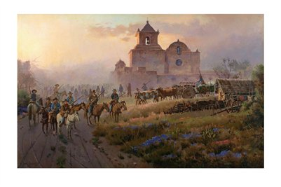 Texas, Goliad March 19, 1836