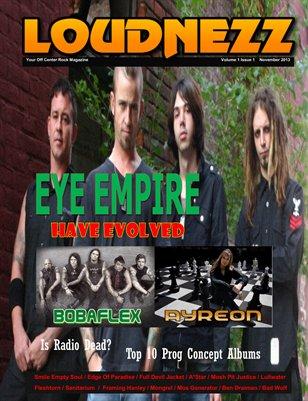 Loudnezz Magazine November 2013