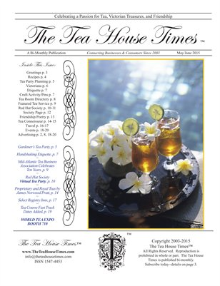 The Tea House Times May/June 2015 Issue