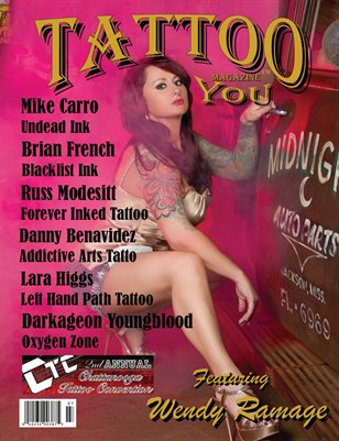 Tattoo You Magazine July 2014 Wendy Ramage