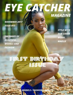 EYE CATCHER MAGAZINE issue #13 November 2017