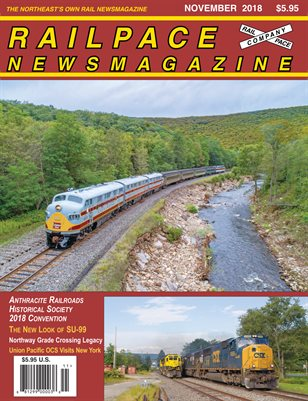 2018-11 November 2018 Railpace Newsmagazine