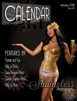 Calendar Girls - Issue Four - January 2015 - Baylynn Blue