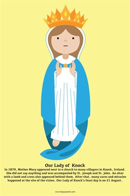 Happy Saints Our Lady of Knock Poster