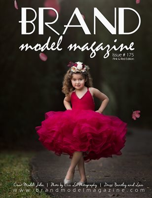 Brand Model Magazine  Issue # 175, Pink/Red Vol. 1