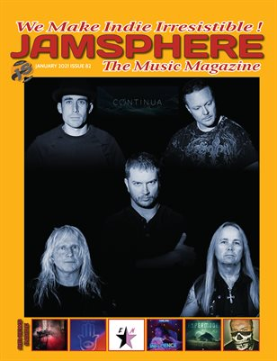 Jamsphere Indie Music Magazine January 2021