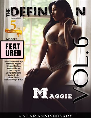 TDM: 5yr Anniversary Cover 3 Maggie Vol 6 August 2019