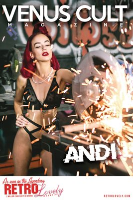 Venus Cult No.52 – Andi Cover Poster