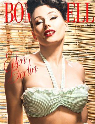 BOMBSHELL Magazine August 2019 BOOK 1 - Eden Berlin Cover