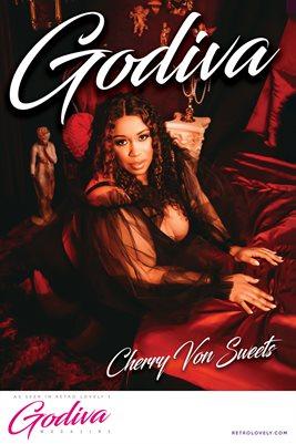GODIVA No.18 – Cherry Von Sweets Cover Poster