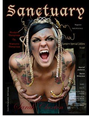 Sanctuary Magazine Vampire Issue Vol.2