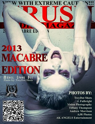 CRUSH Model Magazine 2013 Macabre Edition