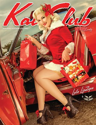 Kat Club Holiday Edition Volume I - Leila Lipstique Cover