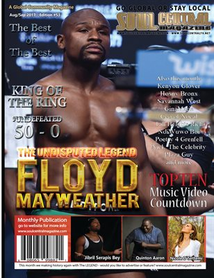 Soul Central Magazine #Legend #Floyd #Mayweather 53rd Edition
