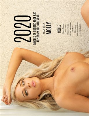 Molly 2020 Models of Artistic Edge RJC Topless/Nude Calendar