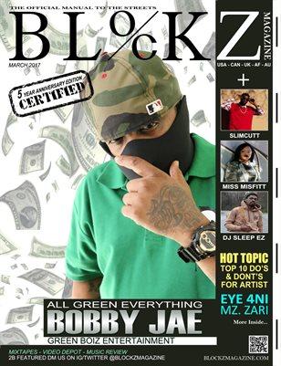 2017 Anniversary Edition: Cover Bobby Jae