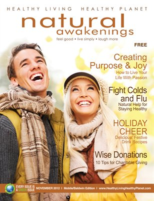 November 2012: Passion and Purpose