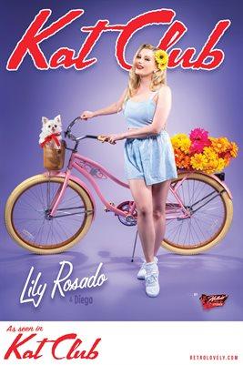 Kat Club No.49 – Lily Rosado Cover Poster