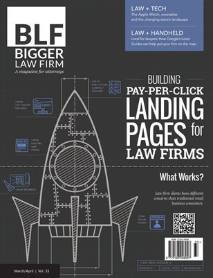 PPC Landing Pages for Law Firms - March April 2015