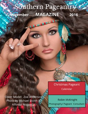 Southern Pageantry Magazine, November Issue