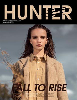 HUNTER Magazine issue January 2021 vol.6