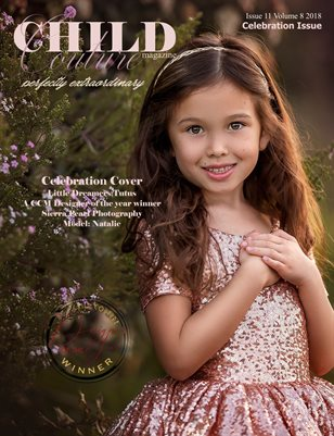 Child Couture magazine Issue 11 Volume 8 2018 Cover Version1